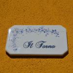 Forno apartment – plaque